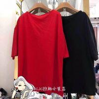 韩版爆款地摊女装短袖T恤批发5元纯棉T恤供应夏季新款印花女式便宜T恤