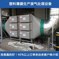 铂锐农用塑料薄膜废气处理设备 大棚膜/地膜厂废气净化器