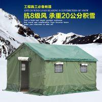 华龙盛宇供应户外帆布帐篷救灾棉帐篷加厚防雨露营帐篷可定制