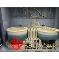 生产各种高档艺术陶瓷泡缸 泡澡缸 洗澡缸 青瓦水台陶瓷澡缸厂家