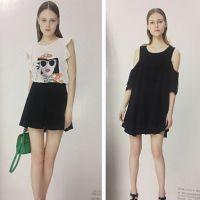 杭州一线品牌女装村上春2016 夏正品专柜尾货一手货源批发走份