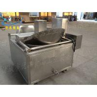优品电加热半自动油炸锅 油面筋油炸锅 加工定制
