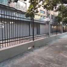 出口标准小区围栏规格 东莞锌钢栅栏制造厂 小区围墙栏杆生产厂址