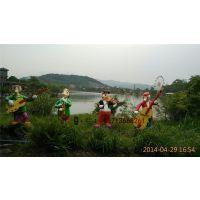 东莞东城公园卡通雕塑主题公园卡通