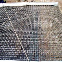 镀锌小轧花网 黑钢丝轧花网厂 福州矿筛网