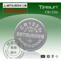 原装进口三菱Mitsubishi CR1220 一次性锂锰扣式电池 电动玩具 电子产品 摄像机