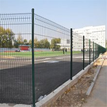 折弯防护网 庭院外墙铁丝网 小区外墙围栏网