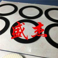 自粘透明硅胶防滑贴 手机支架万次重复贴 防震防磨擦垫圈