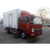 助力冷链发展,松川4.2米重汽冷藏车领鲜一路!