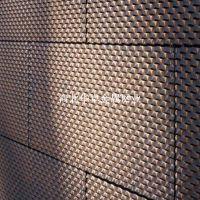厂家定制加厚纯铜冲孔网 黄铜装饰圆孔网
