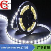 厂家年底促销 LED灯带12V 5050 60灯LED节能灯条LED高亮防水滴胶灯带