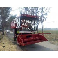山东民耀全自动取料机 玉米秸秆靑储回收机 青贮收割机