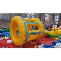 三乐玩具厂SL-999水上陀螺水上浮具水上蹦床台阶充气滑梯,水上冰山