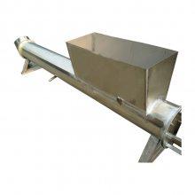 佳木斯 定制 单轴倾斜式输送机 大型递料机 水泥上料输送机 六九重工
