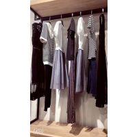 多种款式尾货服装批发三蕊国际欧美品牌女装折扣店加盟批发走份