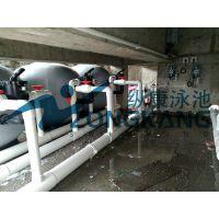 标准大型泳池_钢结构泳池水处理设备_广州纵康消毒设备