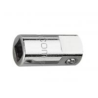 Facom 1/4 in 转换器方形套筒适配器 R.232, 总长24.5 mm套筒扳手普通工具钢