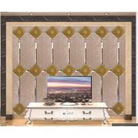 背景墙拼镜电视床头镜面餐厅菱形抗氧化影视玻璃艺术玄关银茶灰粉