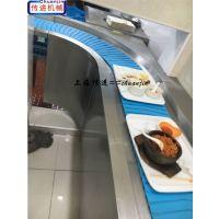 上海餐盘输送机生产厂家,大学食堂餐厅收盘传送带