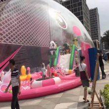 充气水晶宫AND百万海洋球池,室内商场新型儿童游乐园必选项目