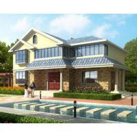 赣州别墅设计AT1608占地120平米二层精致简欧别墅全套设计图纸14mx10m