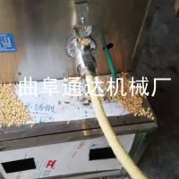 通达牌流动使用江米棍机 小型汽油机空心棒机厂家