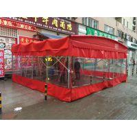 天津红桥区门市移动帐篷简易遮雨棚临时仓库活动彩蓬直销