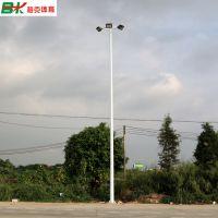 厂家直销 柏克篮球场灯杆 接受定制篮球场灯柱 8米球场照明LED灯杆现货