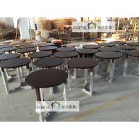 上海韩尔家具北欧宜家圆桌子质量好/咖啡厅HR-Y20021圆桌定制