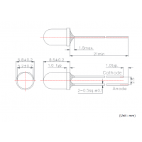 USHIO发光二极管(原Epitex) 970波长 机器视觉
