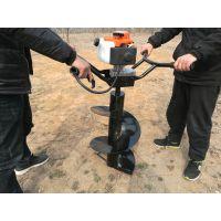 新款手扶式桩芯取土机可连接加长钻头掏土更快速