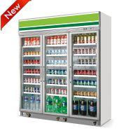 飞尼特LG-1860双门饮料柜冷藏展示柜超市冷柜厂家直全国联保
