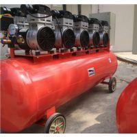 上海劲豹无油空压机10P型号SLH300功率7500W的静音无油空压机