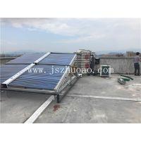 江苏卓奥为景宁泽宇电动车公司安装太阳能和奥栋空气能热水工程