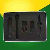 黑色内托海绵EVA包装减震高回弹包装盒礼品盒填充内衬海绵定制