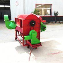 江西加厚型油葵脱粒机 家用四轮带打粒机 经济好用的脱粒机