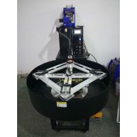 供应LED面板灯平板灯行业铝框自动焊接机带转盘上下料铝框自动焊一体机