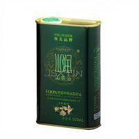 定制 山茶油铁罐包装 马口铁 食用油包装盒礼盒 500ml食用油铁桶