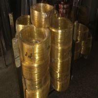 深圳黄铜线磷铜丝 铍铜线 H65 H63黄铜扁线 c1100红铜软线、半硬、硬线等高端定制