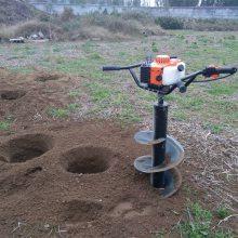 厂家直销地钻挖坑机 小型手提式植树挖坑机 江西种树机