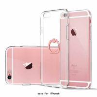 苹果iPhonex手机壳透明TPU iPhone7plus指环支架保护套软壳全包款