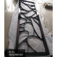 浙江黑金不锈钢屏风满焊工艺艺术花格定做厂家、拼接立体黑金花格