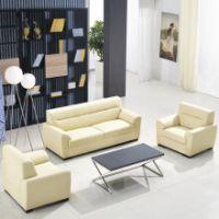 天津商务沙发,办公室家具沙发,真皮沙发组合