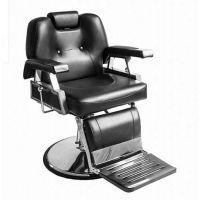 畅销黑色不锈钢理发椅