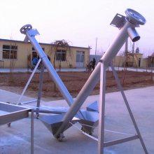 [都用]定做3米长螺旋提升机 饲料颗粒上料机 工地沙子提升机