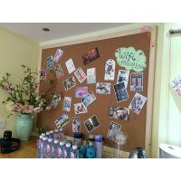 中山幼儿园墙软木板2照片墙留言板2软木彩色定制