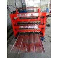 三层彩钢压瓦机@南堡三层彩钢压瓦机生产厂家