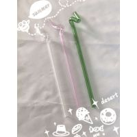 天宝乐牌TB-2688环保玻璃吸管8*250MM 耐热彩色护唇玻璃果汁饮料低碳生活水烟壶吸管