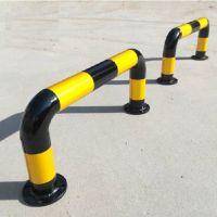 厂家订做直销各型号钢管挡车器 叁兄 停车场挡车杆 钢管定位器 止退器