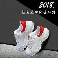 供应【2018夏季新款】韩版厚底运动鞋老爹鞋街拍款跑鞋男鞋